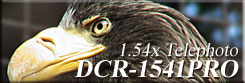 DCR-1541PRO High Quality Telephoto conversion lens